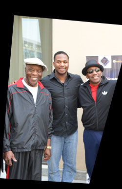 Buddy Guy, Robert Randolph and John Lee Hooker Jr